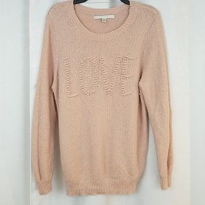 Lauren Conrad LOVE Sweater Size XL